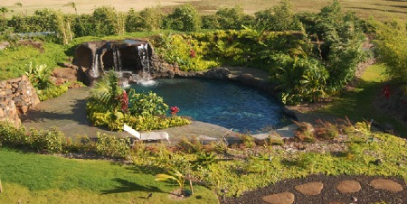Upcountry Maui- waterfeature